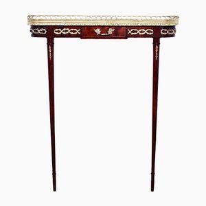 Mesa consola estilo Louis XVI, años 60
