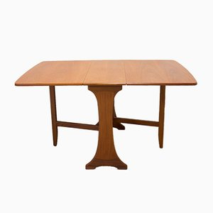 Mid-Century Teak Drop-Leaf Dining Table by Ib Kofod-Larsen for G-Plan