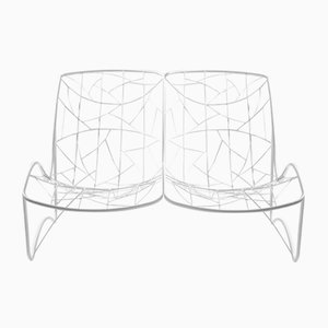 Tumbona doble reclinable de Studio Stirling