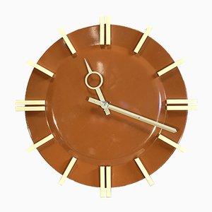 Horloge Murale de Bureau Industrielle de Pragotron, 1970s
