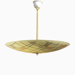 Ampla Ceiling Lamp, 1950s