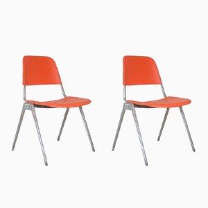 Vintage Modell 1601 Stühle von Don Albinson für Knoll, 2er Set