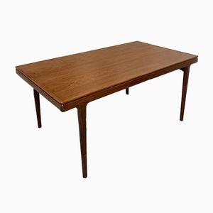 Tavolo da pranzo di Johannes Anderson per Uldum Møbelfabrik, Danimarca, anni '60
