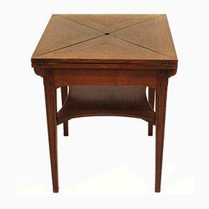 Table à Cartes Jugendstil par Jac. van den Bosch pour 't Binnenhuis, 1905