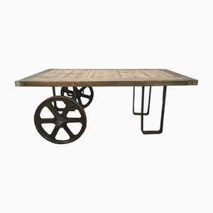 Industrial Coffee Table, 1950s