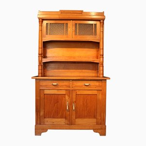 Vintage Ash Kitchen Cupboard, 1920s