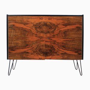 Czechoslovakian Walnut Sideboard, 1960s