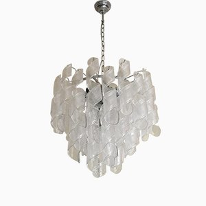 Murano Glass Spirale Sputnik Chandelier from Italian light design