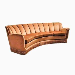 Sofa von Guglielmo Ulrich für Saffa, 1950er