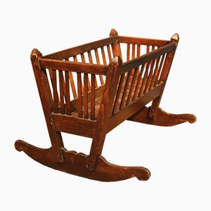 Antique Biedermeier Crib