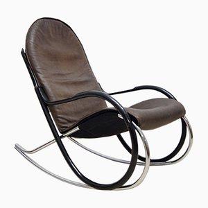 Rocking Chair Nonna par Paul Tuttle pour Strässle, 1972