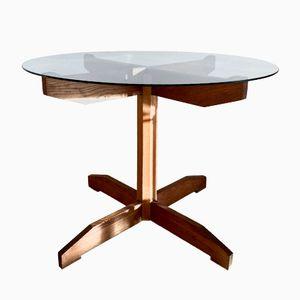 Tavolino da caffè Mid-Century in teak, anni '60