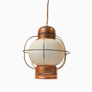 Lámpara colgante náutica Mid-Century de Lyfa, años 60