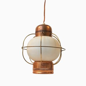 Mid-Century Nautical Pendant Lamp from Lyfa, 1960s