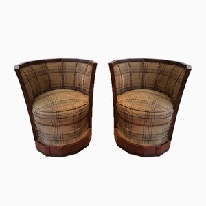 Art Deco Armchairs by Willem Hendrik Gispen, 1930s, Set of 2