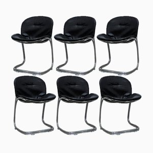 Vintage Sabrina Chairs by Gastone Rinaldi for Rima, Set of 6