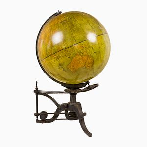 Large 19th-Century World Globe from Barbot