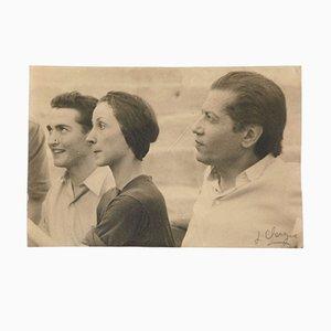 Fotografia di Serge Lifar di Lucien Clergue, 1954