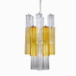 Lampada multicolore di Toni Zuccheri per Venini, anni '60