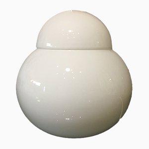 Große Daruma Tischlampe von Sergio Asti für Candle, 1980er