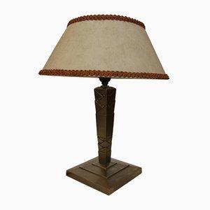 Lampe de Bureau Art Deco par Edgar Brandt, France, 1920s