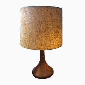 Dänische Vintage Tischlampe aus Teak