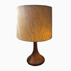 Vintage Danish Teak Table Lamp
