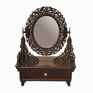 Specchio antico regolabile