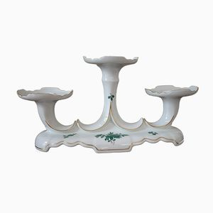 Vintage Augarten Porcelain Candle Holder