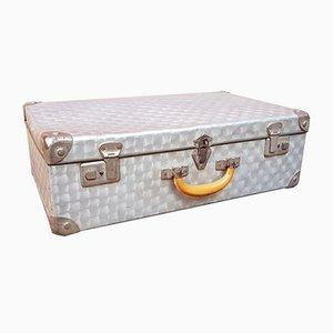 Mid-Century Aluminum Suitcase