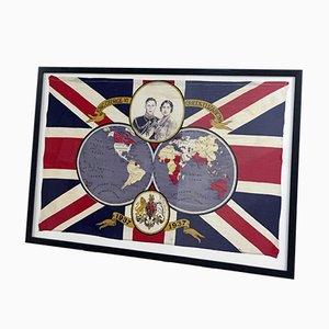Bandera conmemorativa de la coronación del rey George VI, 1937
