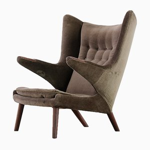 AP90 Papa Bear Easy Chair by Hans J. Wegner for AP Stolen, 1952