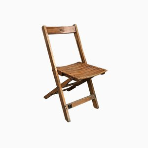 Vintage Folding Bar Chair