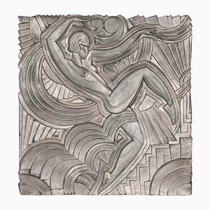 Replica del bassorilievo Folies Bergere di Maurice Picaud, anni '30