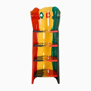 Nobody's Perfect Bookcase by Gaetano Pesce for Zerodisegno, 2003