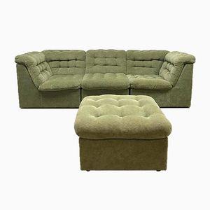 Vintage Velvet Modular Sofa