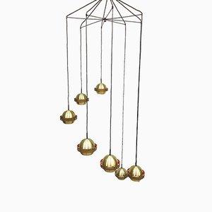 Vintage Cascade Pendant Ceiling Lamp, 1960s