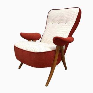 Vintage Modell 105 Armlehnstuhl mit Hairpin-Füßen von Theo Ruth für Artifort