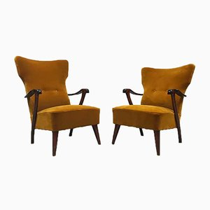 Mid-Century Wingback Armchair by A.A. Patijn for Zijlstra Joure, Set of 2