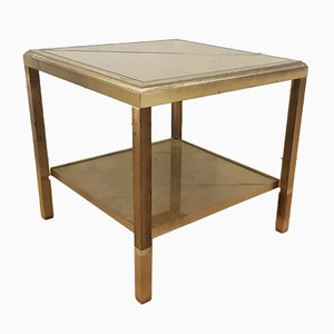 Marble Effect Side Table from Maison Jansen, 1960s