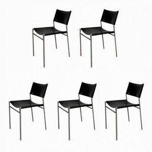 Chaises de Salle à Manger Modèle SE06 Vintage par Martin Visser pour 't Spectrum, Set de 5