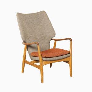 Armlehnstuhl mit hoher Rückenlehne von Aksel Bender Madsen für Bovenkamp, 1960er