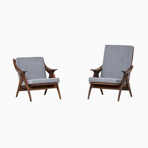 Easy Chairs from De Ster Gelderland, 1960s, Set of 2