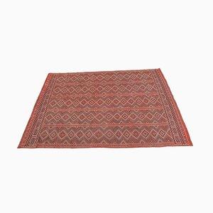 Large Moroccan Berber Wool Kilim Rug, 1960s