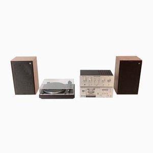 Impianto stereo vintage di Thorens, anni '80