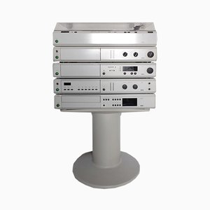 Atelier 3 HiFi Stereoanlage von Dieter Rams für Braun, 1984