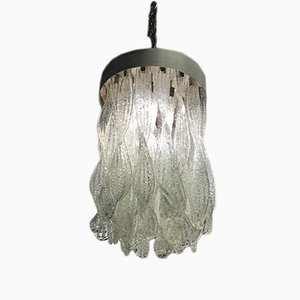 Vintage Hand-Blown Chandelier from Mazzega