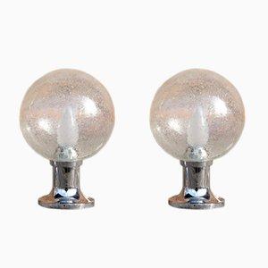 Vintage Tischlampen von Hillebrand, 1970er, 2er Set