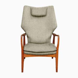 Customizable High Back Armchair by Madsen & Schübel for Bovenkamp in Sand