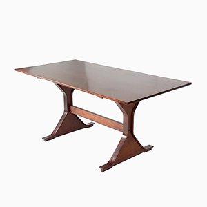 Table de Salle à Manger en Palissandre par Gianfranco Frattini pour Bernini, Italie, 1968